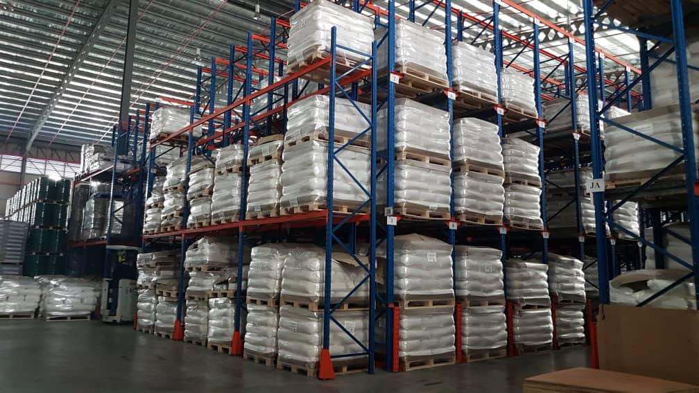 well organised storage facilities in port klang warehouse